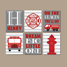 fashionable inspiration fire truck wall art home decor design ideas great 55 for painters tape with