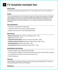 Printable Sample Resume For Construction Worker Resume
