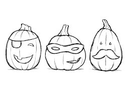 Small Picture Coloring Page Halloween Pages Easy Online For Preschoolers Free