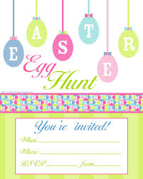 easter egg hunt template easter invitation template songwol 703422403f96
