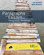 cengageusaplia™   term instant access for brandon brandon    s paragraphs and essays   integrated readings   th edition