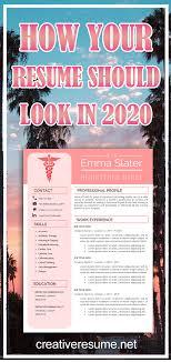 Modern Nurse Resume Format Word Nurse Resume Cv Template Registered Nurse Cv Nursing