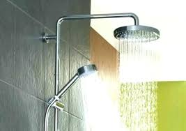 dual shower head bar. shower heads: dual head bar bronze alternate view a oil rubbed p