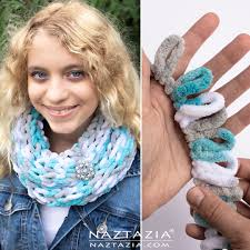 Knitted Infinity Scarf Pattern Awesome Decoration