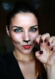 hübsches katzen make up zum fasching noch mehr ideen gibt es auf