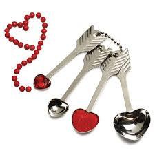 Kitchen Gifts Rsvp Heart Measuring Spoons Unique Kitchen Gadgets