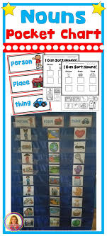 What Is Pocket Chart Dollar Deal Nouns Pocket Chart Sorting Center People