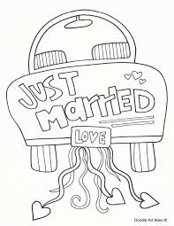 Small Picture Wedding Coloring Pages Doodle Art Alley