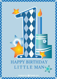 free childrens birthday cards first birthday card baby boy vector free download
