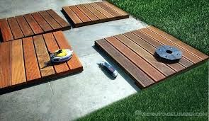 floating deck over concrete patio floating deck over flat roof shocking build a building on concrete