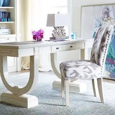 unique home office ideas. Unique Desk, Interesting Artwork And Pops Of Color-recipe For The Perfect Home Office Ideas E