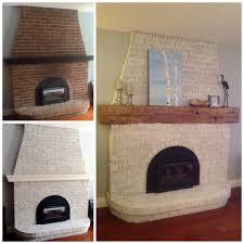 Diy Fireplace Makeover Ideas Diy Whitewash A Brick Fireplace Fireplace Makeover Before