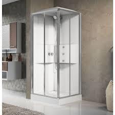 novellini media 2 0 a80 shower pod corner entry 800mm white