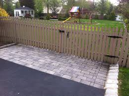 Picket Fence Gate Open White Picket Fence Gate Open Nongzico