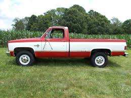 1986 86 Chevrolet Chevy K20 3/4 ton 4x4 Four Wheel Drive Regular ...
