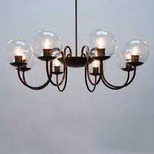 outdoor engaging chandelier replacement shades 6 globes drum hanging lamp glass for ceiling lights light globe