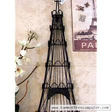 Eiffel Tower Home Decor Accessories Simple Iron Eiffel Tower Jewelry Holder Wall Decor 32 [32] 3232