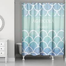 unique shower curtains. Water Scales Shower Curtain In Blue Ombre Unique Curtains A