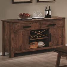 rustic dining room buffet. Rustic Indoor Dining Room Design With Maddox Brown Wood Sideboard Buffet Table In LA, Cross D