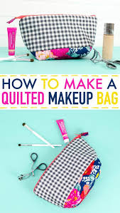 project and i am so excited to share the tutorial for it with you quilting can sound intimidating but learning how to make a quilted makeup bag