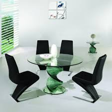 Unique Kitchen Table Acrylic Dining Set And Kitchen Table Unique Glass Dining Table