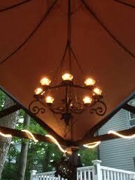 How To Hang Lights In Gazebo Solar Powered Gazebo Chandelier Procura Home Blog