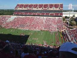 Gaylord Memorial Stadium Section 102 Home Of Oklahoma Sooners
