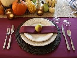 setting table topped with a bow rms chasingpaige purple fall table setting sxjpgrend