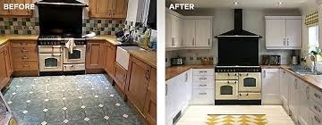 tile paint kitchen. Plain Paint Before And After Kitchen Tiles Painted With Ronseal Tile Paint And Tile Paint Kitchen E