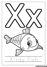 Here are some interesting letter x coloring sheets and craft activities based for your kids'. Alphabet Coloring Pages Letters U Z