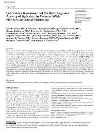 pdf use of thromboelastography teg for detection of new anticoagulants
