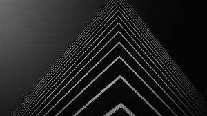 building corner in black background 4k wallpaper