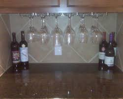 Cabinet:Beautiful Under Cabinet Wine Glass Rack Reclaimed Wood Floating  Shelf Wine Rack Set Famous