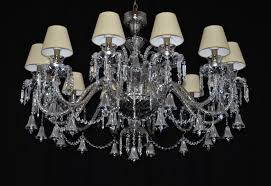 the custom made 12 arms silver crystal chandelier reduced for the low ceiling