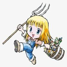 In celebration of harvest moon's 20th anniversary comes an all new harvest moon title for steam! Harvest Moon More Friends Of Mineral Town Claire Hd Png Download Transparent Png Image Pngitem