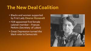 First Woman Cabinet Member Chapter 10 Learning Targets Roosevelt Takes Office Election Of
