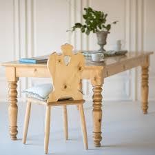 Pine Farmhouse Kitchen Table Custom Made Bradshaw Kirchofer English Farmhouse Dining Table