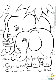 Elephant Color Pages Click The Cute Baby Elephant Coloring Pages Mom