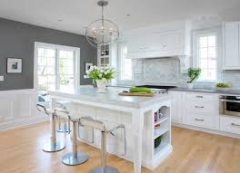 all white kitchen designs. Attractive Soothing White And Gray Kitchen Remodel Traditional All Designs