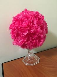Paper Flower Tissue Paper Creating A Tissue Paper Flower Centerpiece 15 Steps