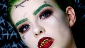 squad joker makeup tutorial