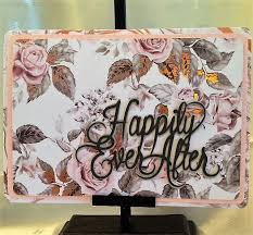 happily ever after handcrafted greeting card w verse wedding Wedding Messages Happily Ever After happily ever after handcrafted greeting card w verse wedding card w heartfelt messages wedding message happy ever after