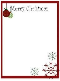 Christmas Letterhead Template Christmas Letterhead Template Christmas Letter Stationery Templates