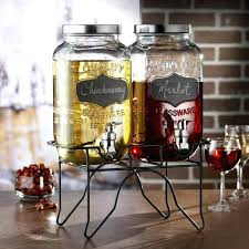 beverage dispenser blackboard glass beverage dispenser with spigot and metal stand set of 2 3 gallon beverage dispenser glass 3 gallon beverage