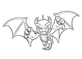 Imaginator Spyro The Dragon Skylanders Coloring Pages 1000 X 721