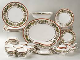 Christmas China Patterns Beauteous Spode Christmas Rose 48Piece Set At Replacements Ltd