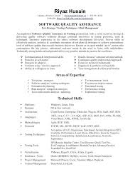 Quality Assurance Resume Samples Resume