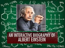 a short biography of albert einstein albert einstein was a german born physicist who developed the theory of relativity