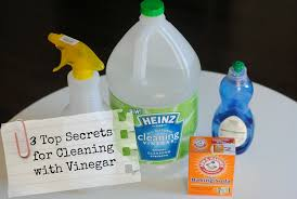 top secret tricks for cleaning with vinegar green cleaning for grout sinks