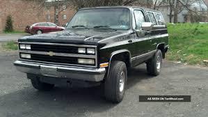 1991 Chevrolet Blazer Specs and Photos | StrongAuto